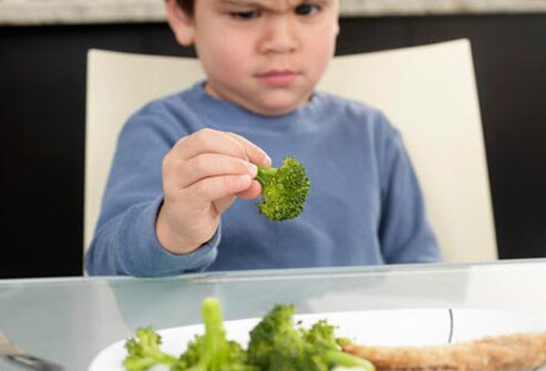 Does your child say he hates asparagus, even though he's never tried it?