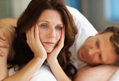 Hormonal changes affect sexual function.