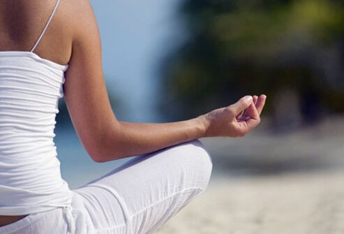 Yoga is a great way to increase fitness.