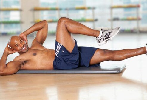 You want four to eight key moves in each workout.