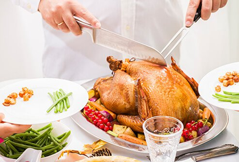 Foods that help with depression are high in tryptophan.