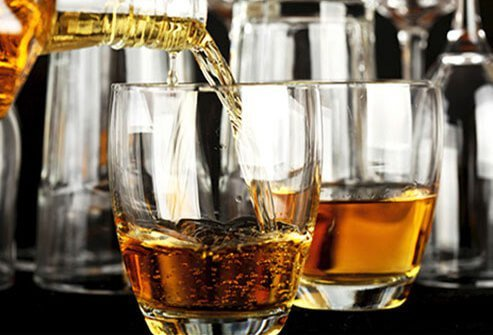 Alcohol can exacerbate symptoms of depression so it's best to avoid it if you have a low mood.