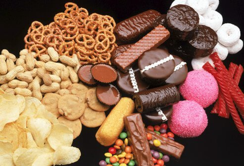 Foods that cause depression are often high in simple carbohydrates and added sugars.