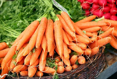 Antioxidant-rich carrots are an example of one of the most helpful foods for depression.