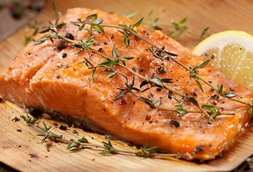 In studies on depression and food, low intake of omega-3 fatty acids is associated with depressed mood.