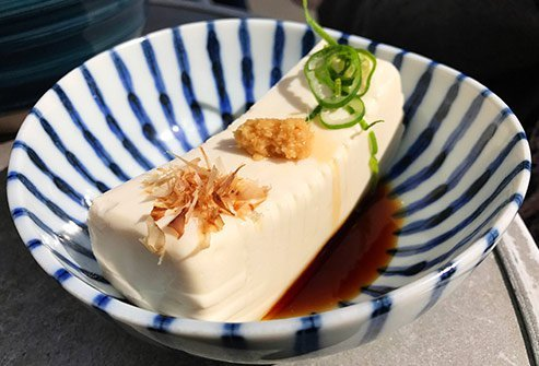 Calcium-rich tofu helps muscles work properly and may alleviate cramps.