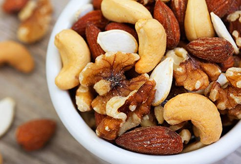Like beans and lentils, nuts and seeds are a great source of magnesium.