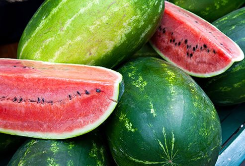 Since it is a melon, it is also high in potassium