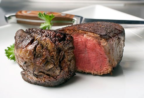 Lean red meat can be good for you.