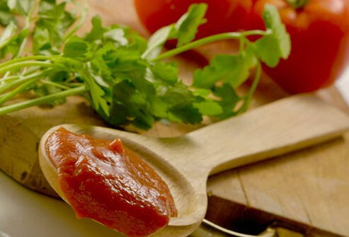 Tomatoes help reduce your risk of prostate cancer.