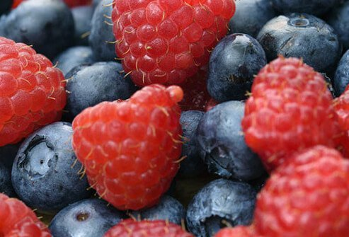 Blueberries may help with erectile dysfunction.