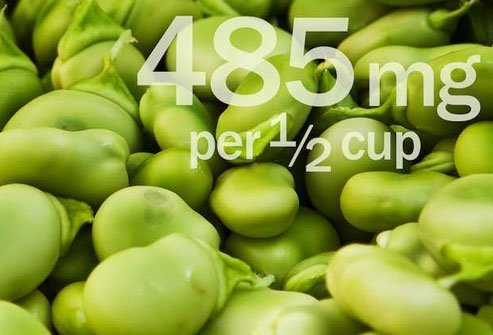 Lima beans are great in a bean salad or as a side dish.
