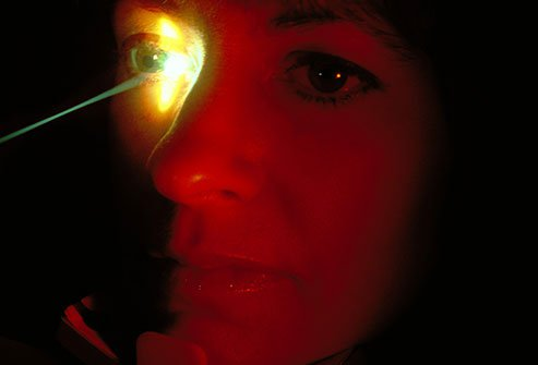 Laser surgery is often a first step in glaucoma treatment before traditional surgery is used.