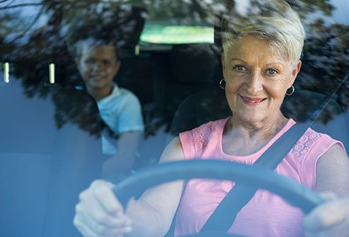 Talk to your doctor about driving following a glaucoma diagnosis.