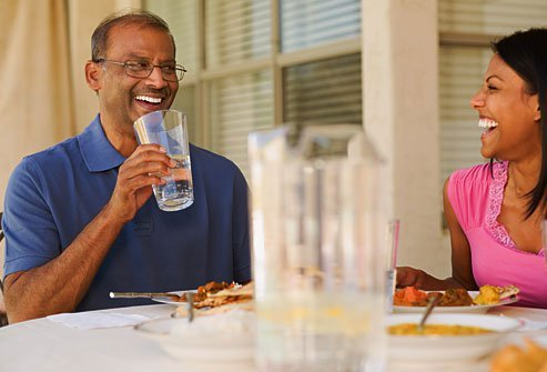 Drink more water to avoid dehydration which can trigger gout attacks.