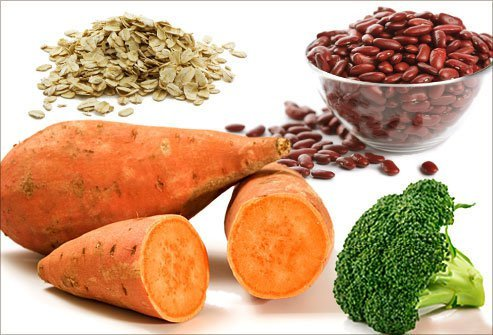 Focus on healthy carbs with a lot of fiber to keep weight in check.