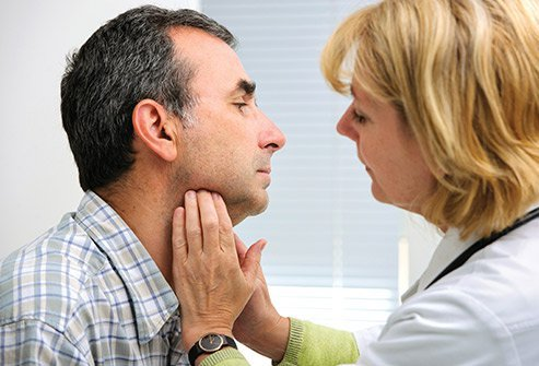 Sores inside the mouth can indicate cancer.