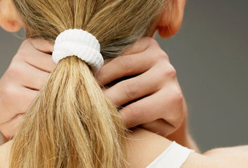 A tight ponytail may strain the connective tissue in the scalp, leading to a hairdo headache.