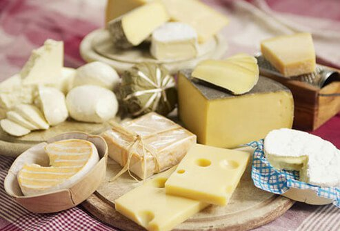 Cheese is one of the most common migraine triggers.