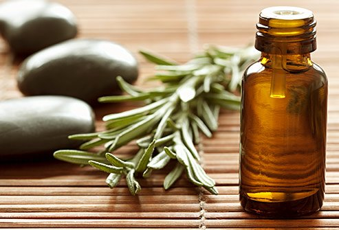 Rosemary and castor oil may help thicken hair, eyebrows, and eyelashes.