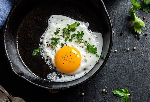 Eggs have more nutrients -- vitamins, minerals, amino acids -- per calorie than most other foods.