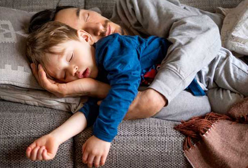 Many preschool-age children stop napping long before they enter kindergarten.