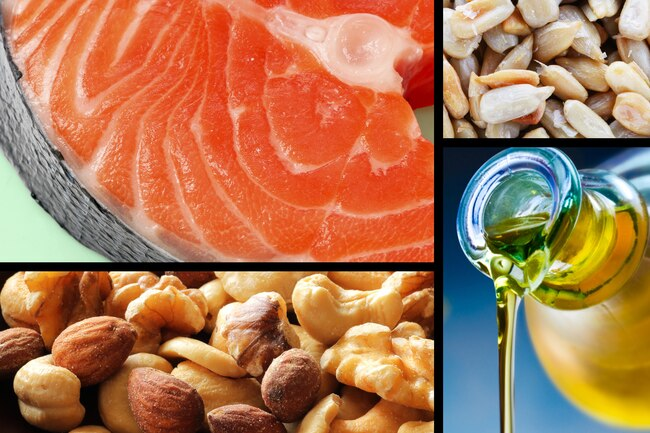 Soybeans are high in healthy polyunsaturated fats.