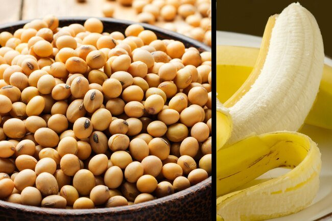 Potassium is an abundant mineral in soybeans.