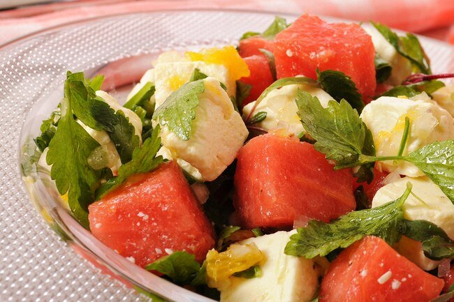 A slice of fresh watermelon tastes great, but you can do more with it.