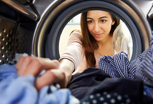 Launder your bedding with the hottest water suggested on the care label.