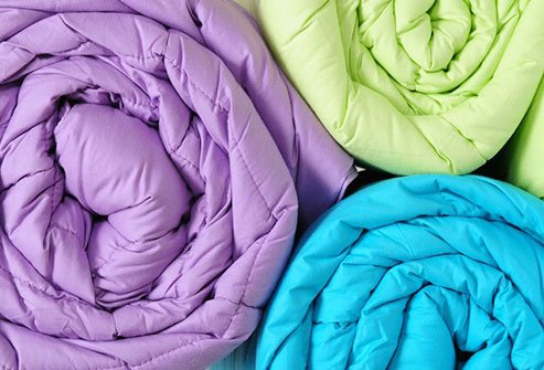 Some comforters or duvet covers aren't machine washable.