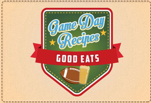 Game day recipes.