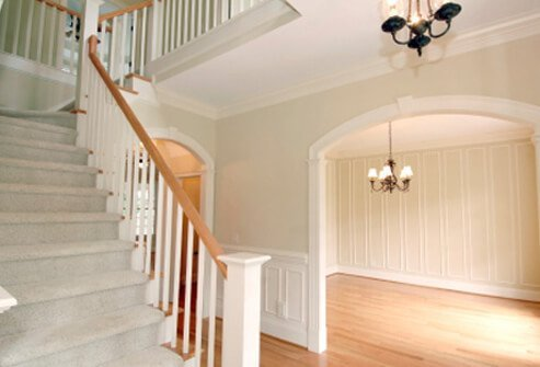 Keep stairs free of clutter.
