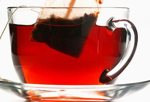 Drink tea instead of coffee with cream.