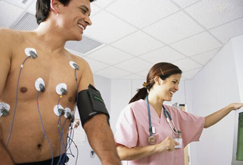 Doctors can diagnose coronary artery disease with a stress test.