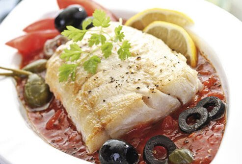 Eating a mostly vegetarian diet with some fish, poultry, and whole grains may help keep your heart healthy.