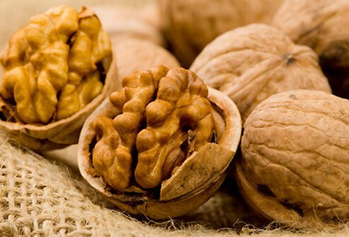 Walnuts provide a lot of the same health protection as almonds and other tree nuts.