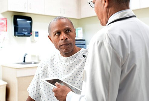 With a history of symptoms, a physician can begin diagnosis on the basis of a careful examination of the anus and anal area.