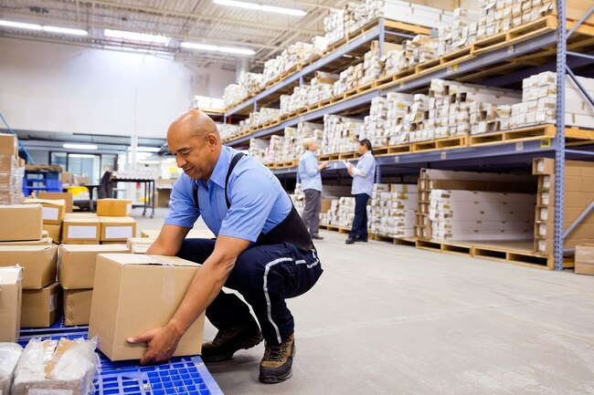 Warehouse and delivery workers may be more likely to suffer from a herniated disk.