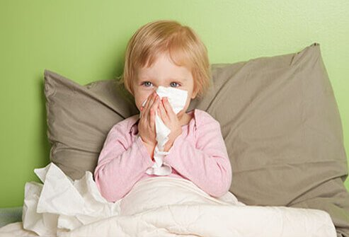 How do you know if your child has a cold or the flu?