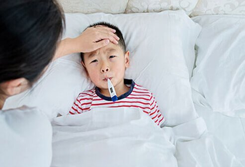 A fever is a sign the body is fighting off an infection, but it can also make your child feel worse.