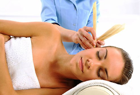 Ear candling is dangerous and it doesn't work.