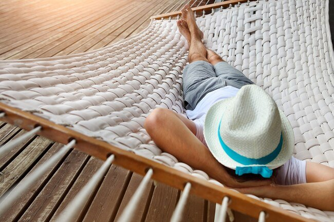 Vacations give you an opportunity to catch up on sleep and rest.