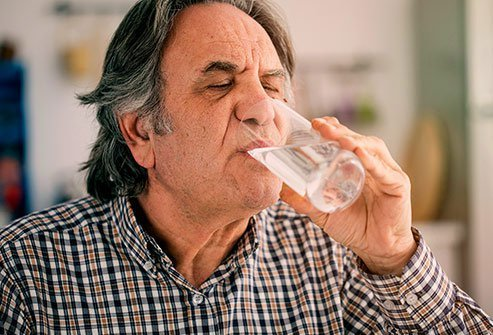 To get rid of that extra sugar, your body draws water from its own tissues.