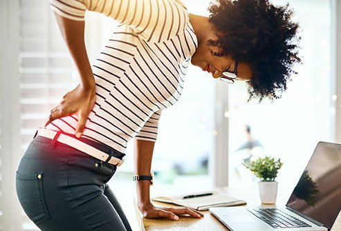 Low back pain seems to be more common in taller people.