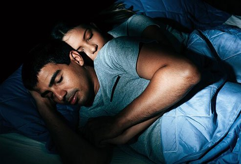 Staying up late triggers the production of cortisol, which can make you gain weight and increase your risk of disease.