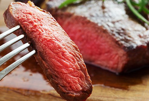 Limit your consumption of red meat to reduce your risk of cancer.