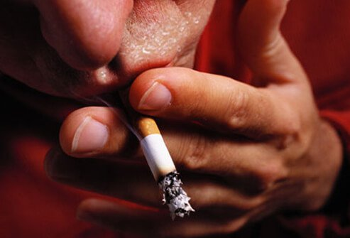 You know it's bad for your health in other ways, but smoking also leads to excessive perspiration.