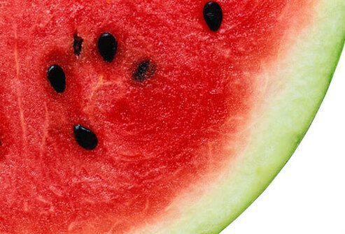 Watermelon gives the body vitamin A, C and B6, nutrients, and compounds like glutathione for proper immune function.