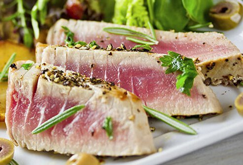 Give the can opener a rest and slice into a succulent tuna steak tonight.